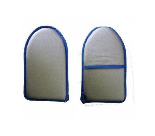 Der Bügelhandschuh aus 100% Baumwolle ist mit einer metallisierenden, hitzeabweisenden Oberfläche ausgestattet und ist die perfekte Unterstützung für das schnelle Bügeln von Ärmeln, Kragen, Taschen, Krawatten etc.