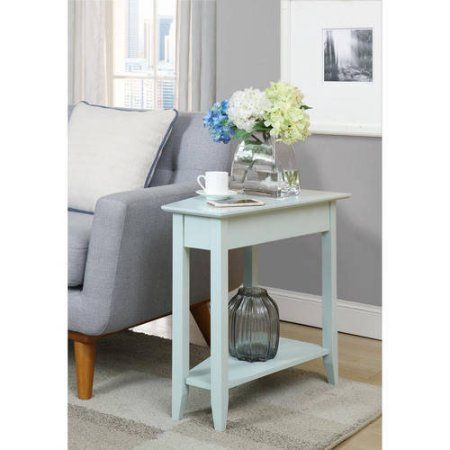 Convenience Concepts American Heritage Wedge End Table, Green
