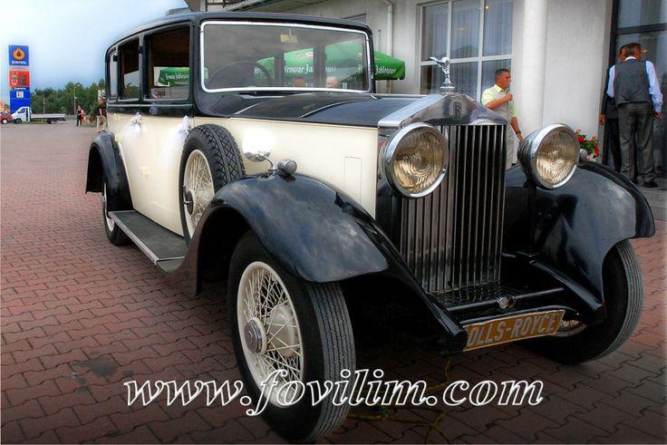 Fovilim | Zabytkowe auto kolekcjonerskie Rolls-Royce Phantom 1933r | Warszawa
