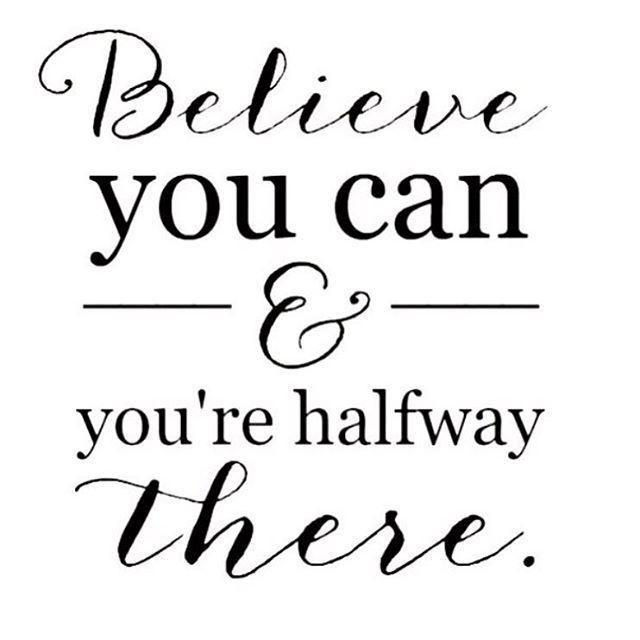 inspiration ifrån @josephinescholey #believe #possible #sportkost #word