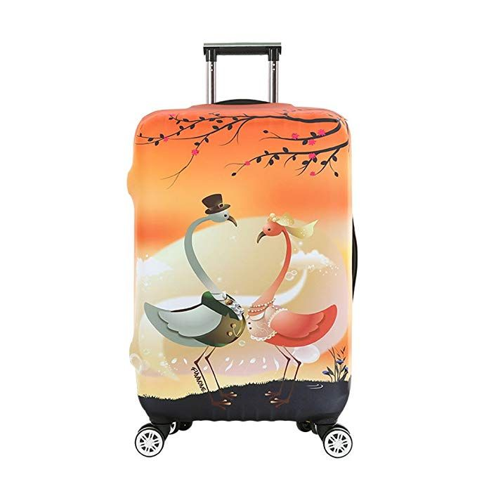 OneSky-UK Luggage Cover, Personalized Protective Durable ...