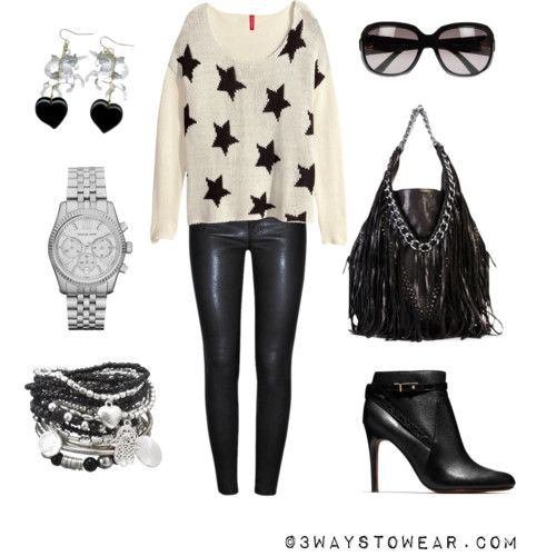 How To Wear Leather Pants: Rock Chick Style
