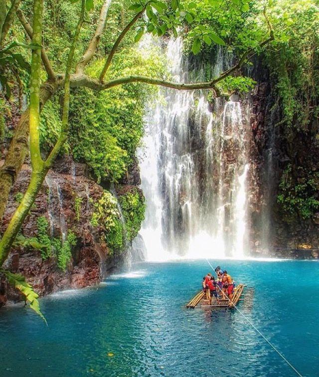 Tinago Falls Iligan City, Mindanao, Philippines