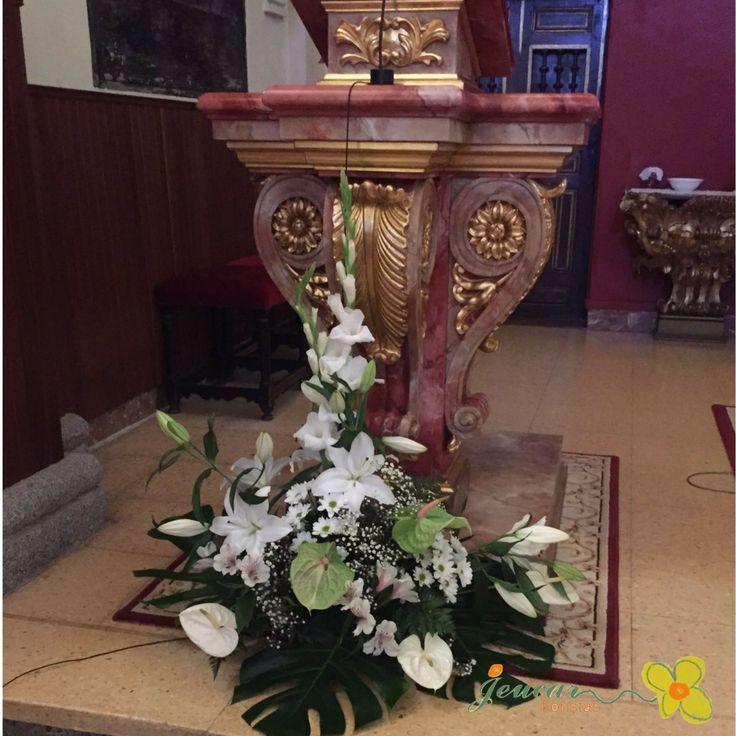 encuentra este pin y muchos ms en decoracin iglesias para bodas
