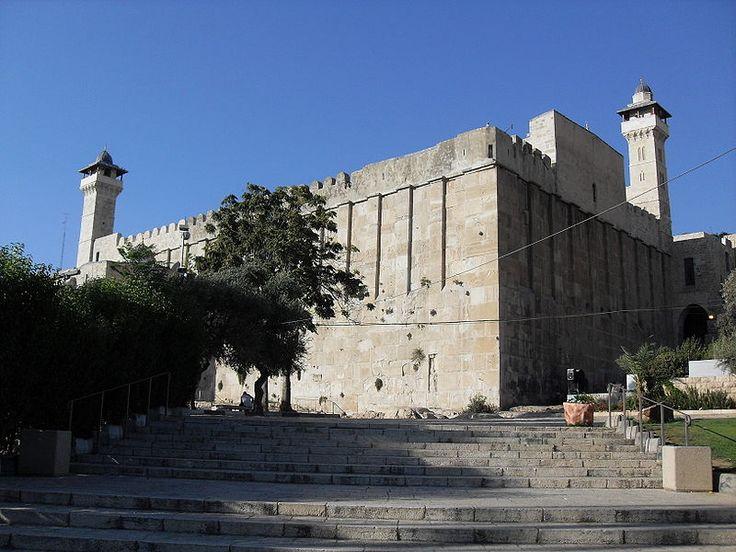 Tomb of the Patriarchs, Abraham, Isaac, Jacob at Al-Haram.