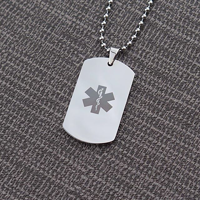 @inserttextheredesign this pendant could save your life! For only £8.99 www.inserttexthere.co.uk #gettingserious #savinglives #savingliveseveryday #medicaltag #medicalsymbol #ice #medical #medicalinfo #medicalinformation #custom #customised #customized #dogtag