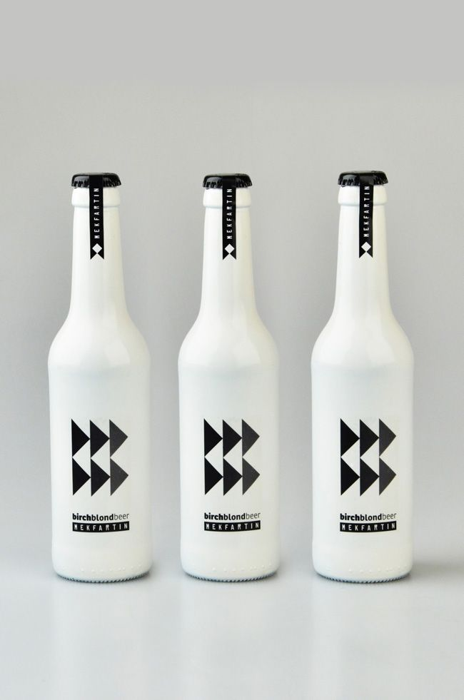 MEKFARTIN Birch Blond Beer   Packaging of the World: Creative Package Design Archive and Gallery: Creative Packaging Design, Mekfartin Birches, Beer Packaging, Beer Bottle, Birches Blondes, Design Packaging, Bottle Design, Blondes Beer, Design Archives