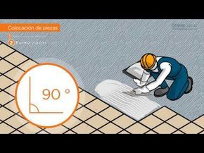 Curso de instalador de pisos de loseta – cerámica parte 3 - YouTube