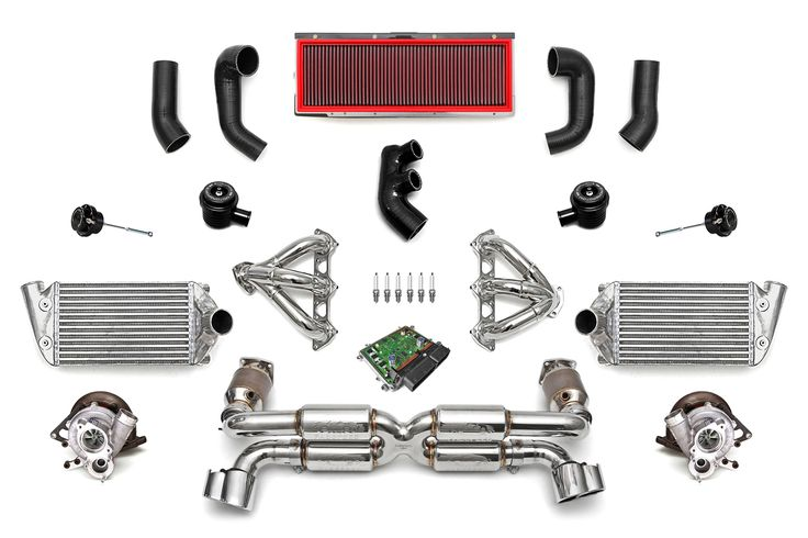 Porsche 996 Turbo FS-625 Supersport Turbo Packageand other high end exhaust intake and ECU upgrades for exotic and high end sports cars.
