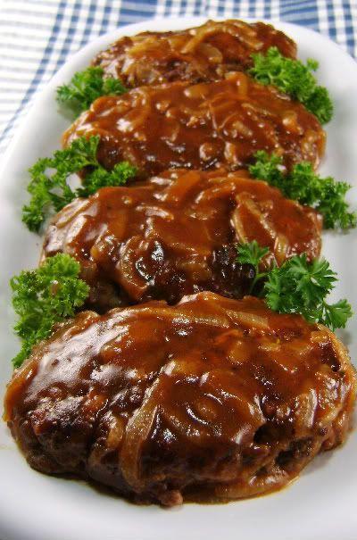 Salisbury Steak with Caramelized Onion Gravy THUMBS UP!