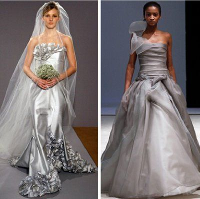 Grey and Silver Bridal Gowns | Trends4Ever.Com