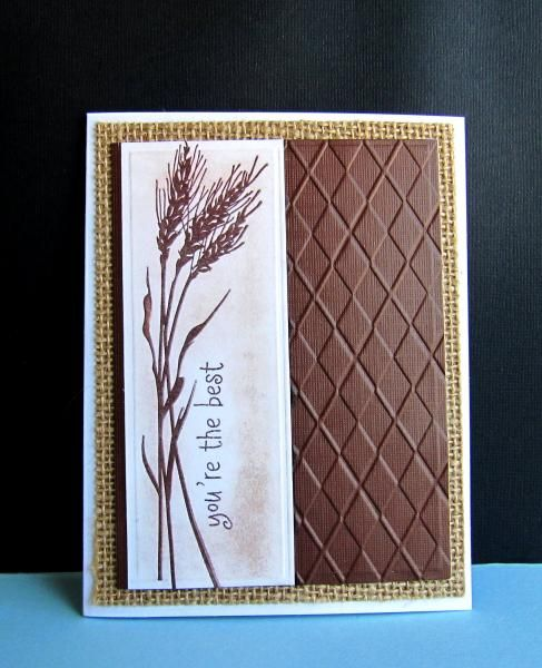 CAS260 You're The Best by catluvr2 - Cards and Paper Crafts at Splitcoaststampers