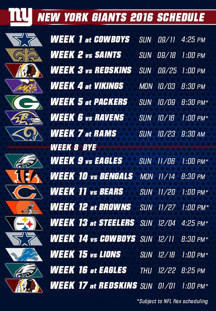 Giants.com   Giants Schedule
