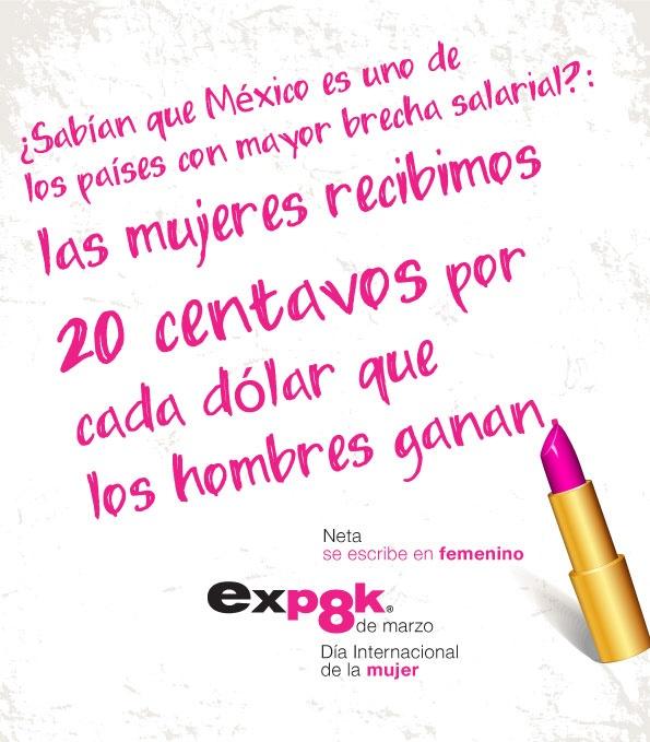 ¡Feliz día internacional de la Mujer!: Salarial Mujer, Brecha Salarial, Happy Day, International, Campaign, Net, Our, International Day, Escribe En