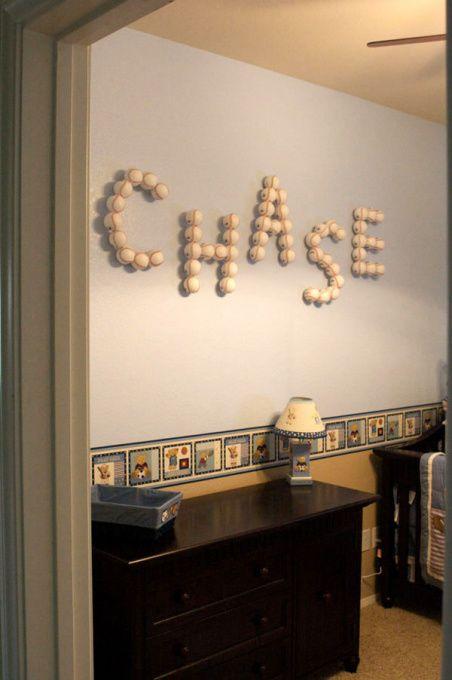 baseball themed baby nursery | Baby Boy Nursery - Nursery Designs - Decorating Ideas - HGTV Rate My ...