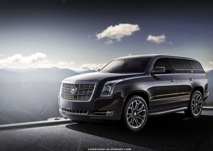 Cadillac Escalade 2015...if the General has designed the the next gen Big Boy as this I WANT one!!