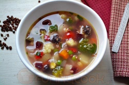 Σούπα Λαχανικών! Veggie Soup!