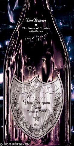 Dom Pérignon Rosé Vintage 2000 par David Lynch