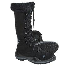 Lowa Lavaia Gore-Tex® Hi Hiking Boots - Waterproof, Insulated (For Women) in Black - Closeouts