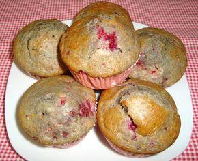Muffins de Framboesa – Not Guilty Pleasure