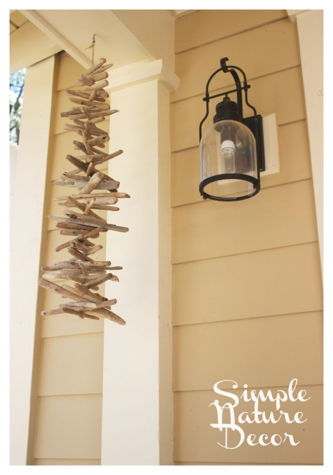 Use Pieces of Wood to Make this Whimsical Drift Wood Chime