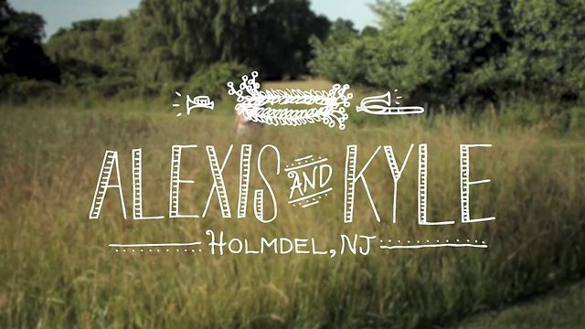 So gorgeous- love the vows, the way everything was filmed, the music, the timing.....everything. (Alexis and Kyle | Holmdel, New Jersey by Caravan.)