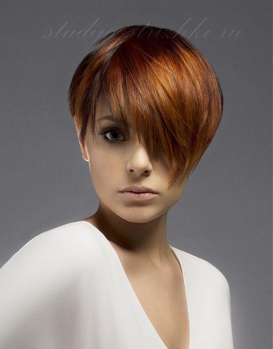 Рыжие волосы асимметрия