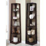 Corner Shelves Eliminate Dead Space | Apartment Therapy