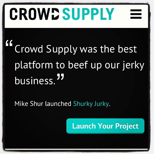 Bite, nibble, bite. Only available at www.crowdsupply.com @crowd_supply @Crowd Supply #crowdsupply #shurkyjurky #paleo #foodporn #believe #crossfit #WOD #weightlifting #bodybuilding #portland #seattle #oregon #colorado #nyc #brooklyn #freshfood #eatfresh #eatclean #cleaneating #healthyeating #craftbeer #craftbrew #startup #entrepreneur #crossfitgames #trainhard #crossfitgirls #fitspo #jerkyrevolution #yummy - http://www.girlsworkhard.com/bite-nibble-bite-only-available-at-www-