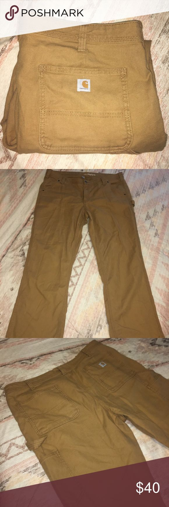 Carhartt Pants Carhartt original fit work pants. Excellent used condition, only worn once or twice. Carhartt Pants Trousers