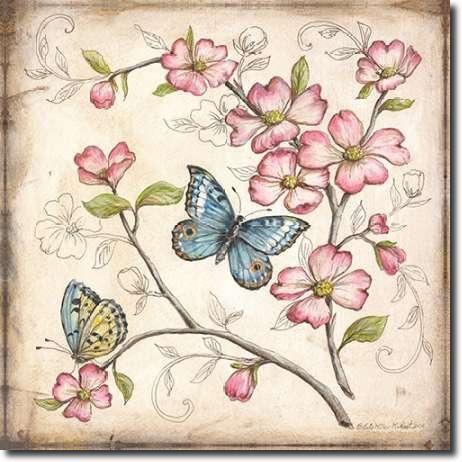 Cuadro Le jardin Butterfly I - McRostie, Kate