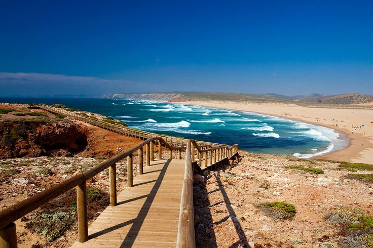 Carrapateira - #Portugal . Ahi estuve yo sobre el año 1990