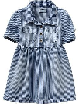Striped Shirtdresses for Baby | Old Navy, Love this for Tyler Grace, with white leggings and her brown riding boots