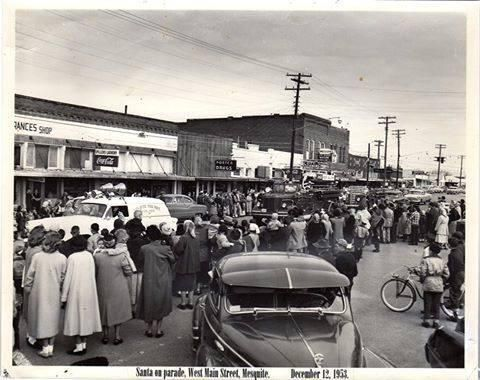 Downtown Mesquite 1953.