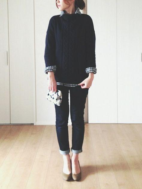 シャツ・ブラウスを使ったhimarisoのコーディネートです。WEARはモデル・俳優・ショップスタッフなどの着こなしをチェックできるファッションコーディネートサイトです。