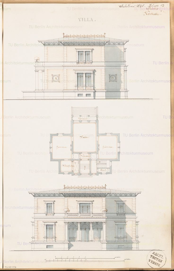 292 best images about Architectural plan elevation studies on