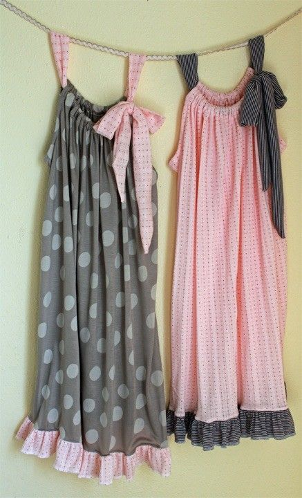 cute idea-Pillowcase Nightgown Tutorial – Super Easy Sewing Project » The Homestead Survival.....in the comments there are good recommendations on where to buy knits!