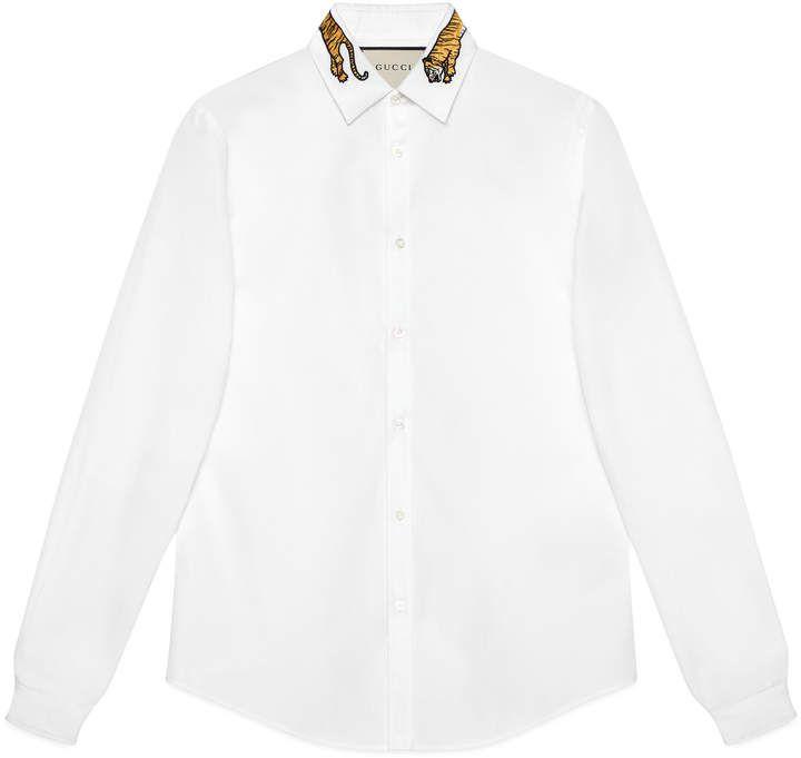 Cotton Duke shirt with tiger