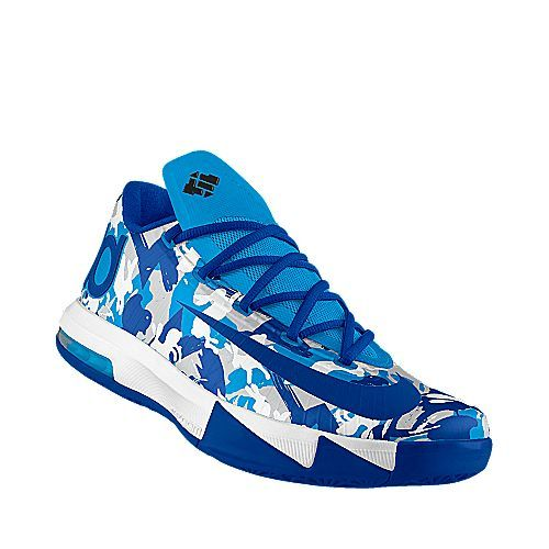 Design your own KD VI iD Basketball Shoe like this at NIKEiD/Talking Men's Shoes