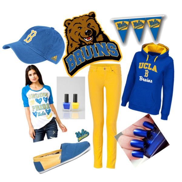 17 Best images about UCLA Bruins Game Day Glam on Pinterest | Pewter Short sleeves and Locks