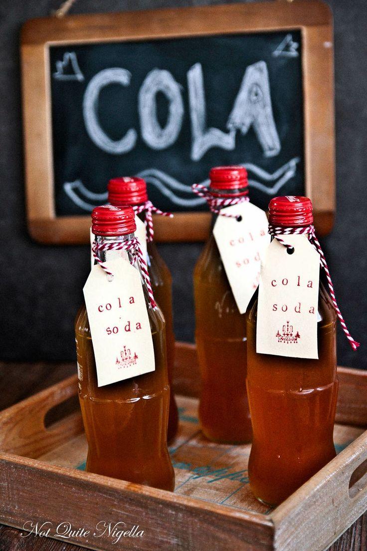 Homemade cola recipe for the soda stream