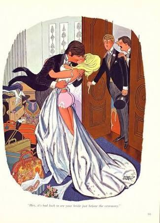 Afbeeldingsresultaat voor wedding playboy adult cartoon