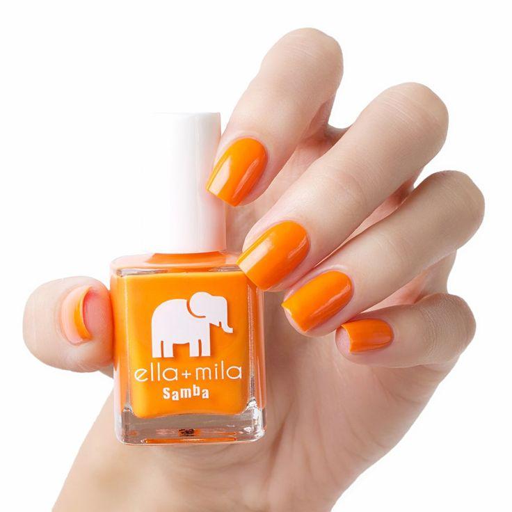 Orange Nail Polish Nz