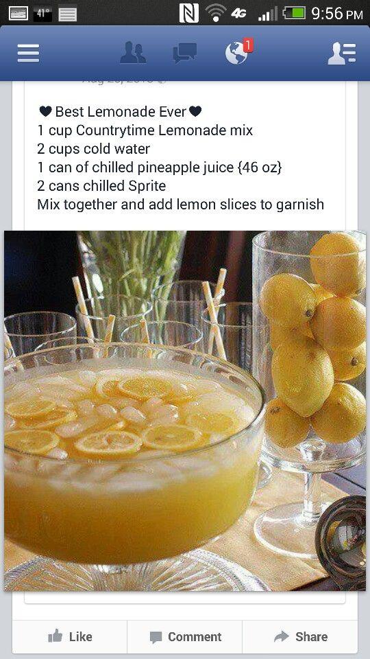 Best lemonaide ever