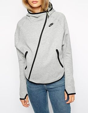 Nike Fleece Hoodie With Butterfly Back