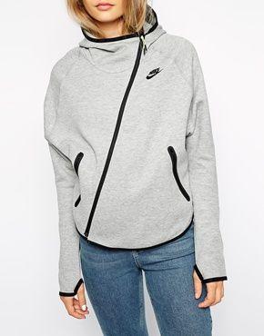 Nike Fleece Hoodie With Butterfly Back