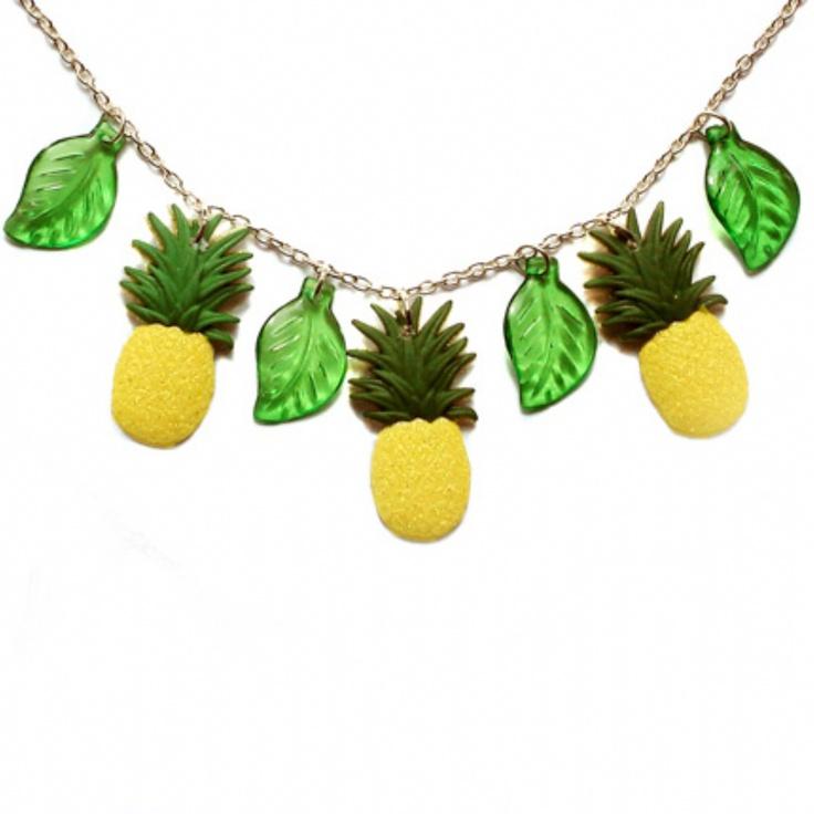 Jewellery Pineapple Pineapple Charm Necklace