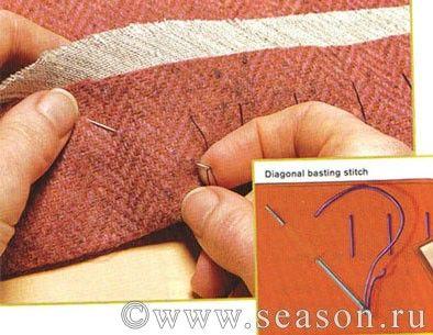 Клуб любителей шитья Сезон - сайт, где Вы можете узнать все о шитье - Современный подход к безупречной подгибке