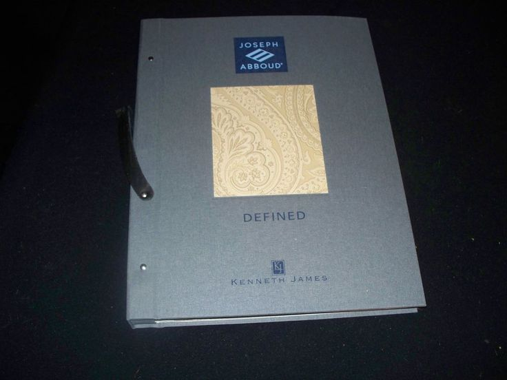 Wallpaper Sample Book - Kenneth James Defined - 70 Pgs - Crafts/Scrapbooking