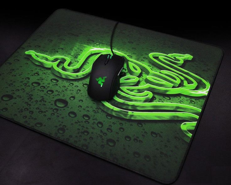 Large Gaming Mouse Pad Razer Mouse Mat Pad Anti Slip Optical game Mice Pad Black #Razer